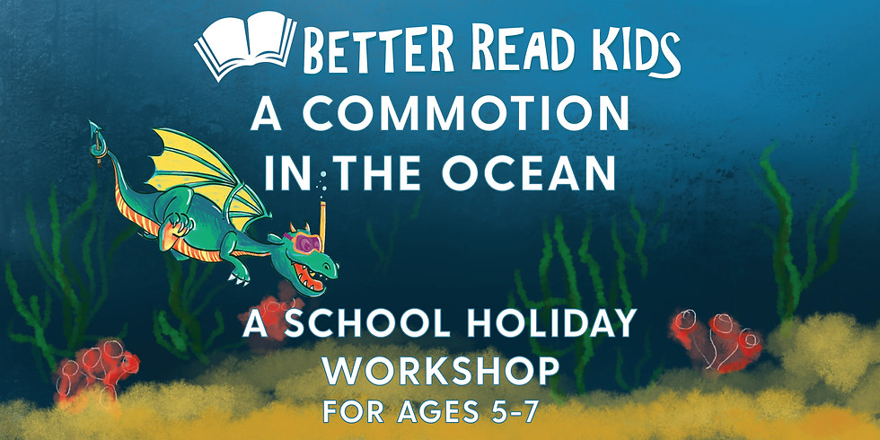 Better Read Kids Presents A Commotion In the Ocean