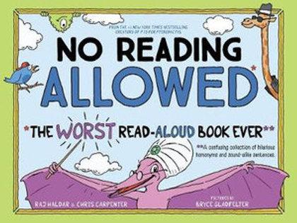 No Reading Allowed by Raj Halder and Chris Carpenter