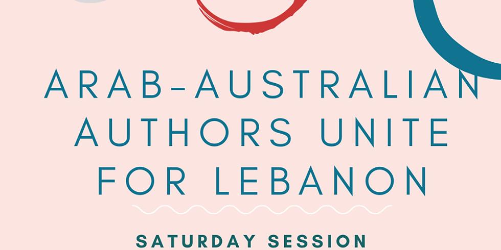 Arab-Australian Authors Unite for Lebanon - Saturday Session