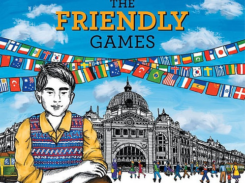The Friendly Games Kaye Baillie