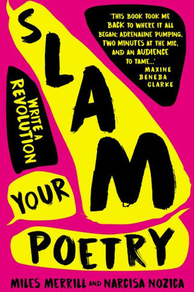 Slam Your Poetry Miles Merrill and Narcisa Nozica