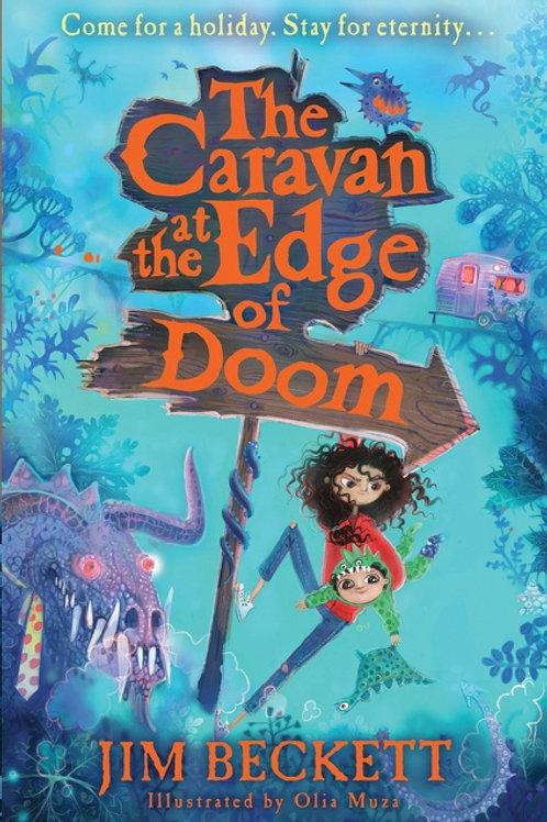 Caravan at the Edge of Doom by Jim Beckett