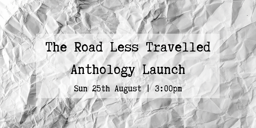The Road Less Travelled Anthology Launch