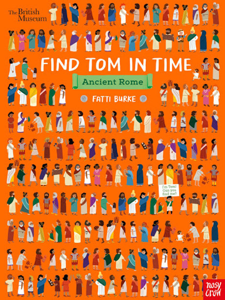 Find Tom in Time, Ancient Rome by British Museum