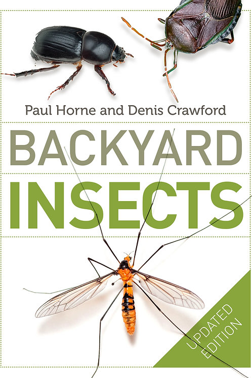 Backyard Insects by Paul Horne and Denis Crawford