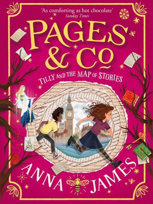 Pages & Co. #3 - Tilly and the Map of Stories by Anna James