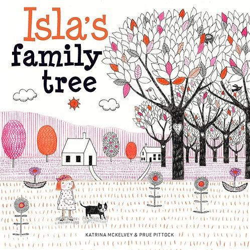 Isla's family tree by Katrina McKelvey and Prue Pittock