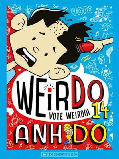 Weirdo #14: Vote Weirdo by Anh Do