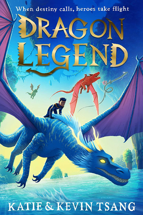 Dragon Legend Book 2: Dragon Realm by Katie and Kevin Tsang