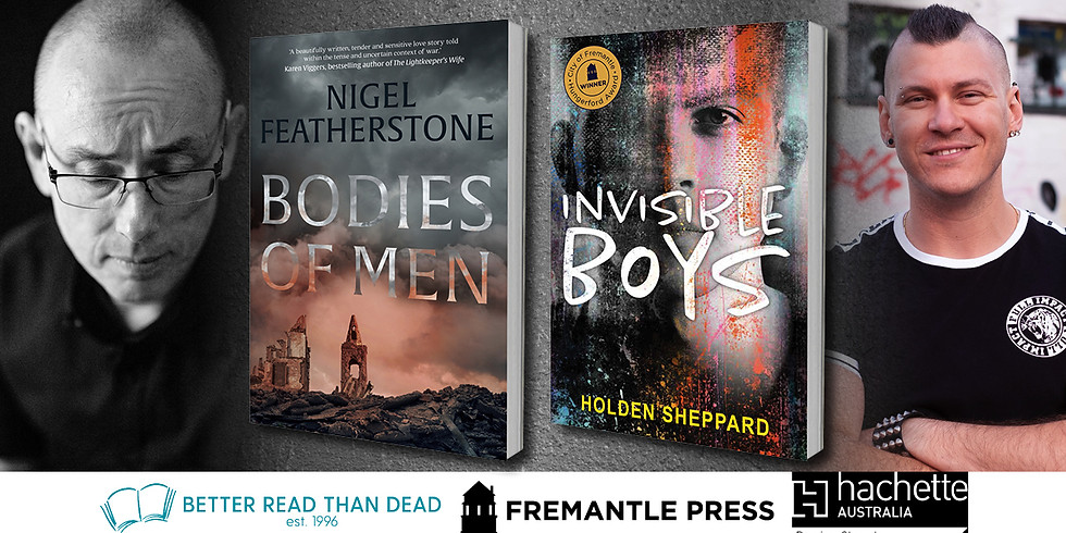 Holden Sheppard and Nigel Featherstone In-Conversation