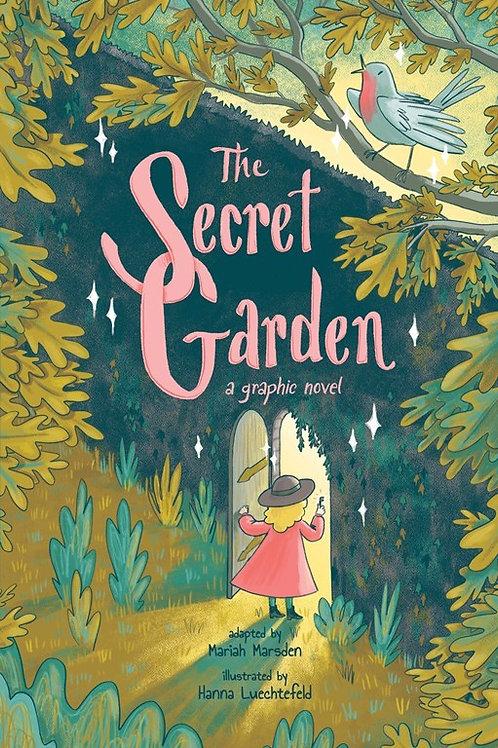 The Secret Garden: A Graphic Novel by Mariah Marsden & Hanna Luechtefeld