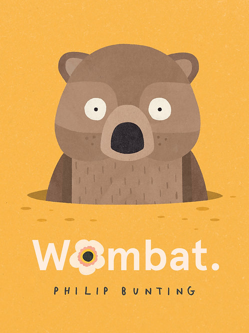 Wombat by Philip Bunting