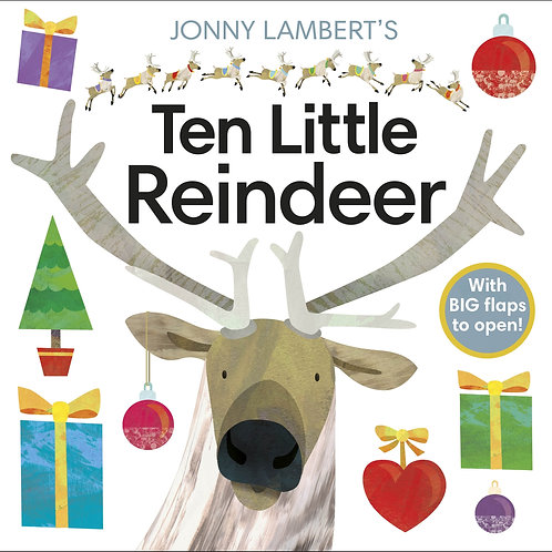 Ten Little Reindeer by Jonny Lambert