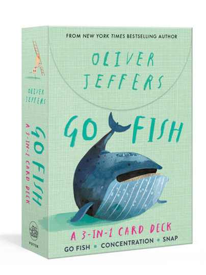 Go Fish: A 3-in-1 Card Deck By Oliver Jeffers