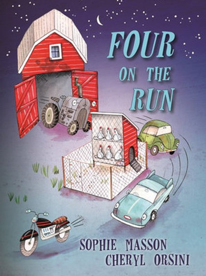 Four on the Run by Sophie Masson
