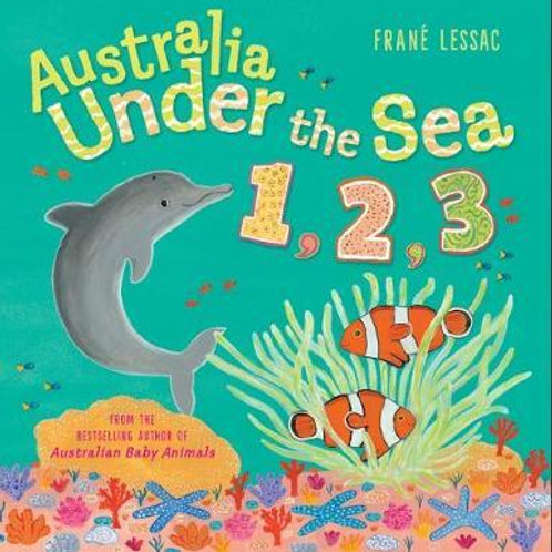 Australia Under the Sea 1,2, 3 by Frane Lessac