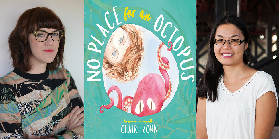 Claire Zorn - No Place for an Octopus - Book Launch