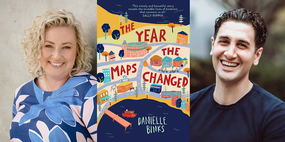 CANCELLED - Danielle Binks - The Year the Maps Changed