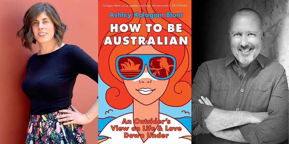 Ashley Kalagian Blunt - How to Be Australian - Book Launch