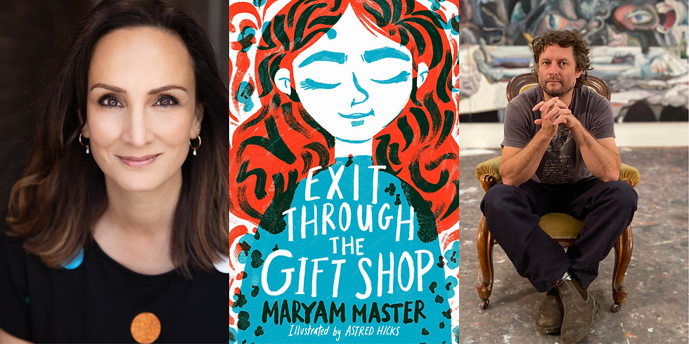 Maryam Master in conversation with Ben Quilty