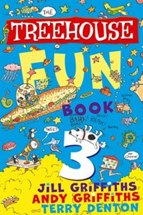 The Treehouse Fun Book #3 by Andy Griffiths and Jill Griffiths