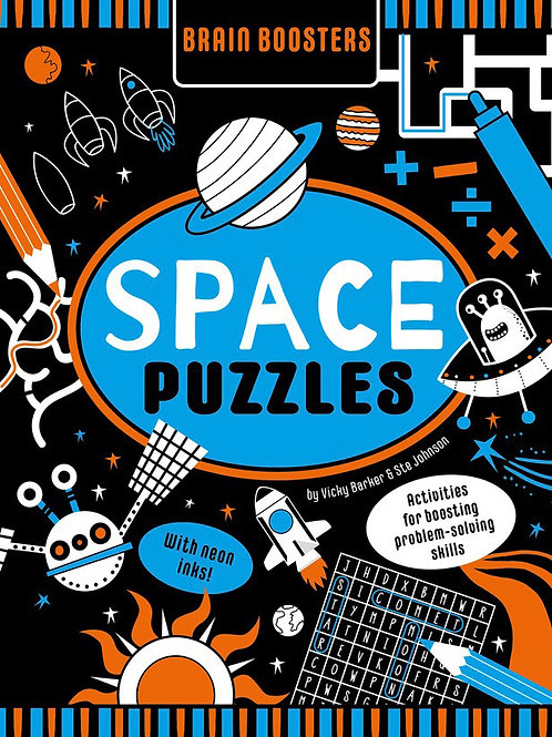 Brain Boosters: Space Puzzles by Vicky Barker