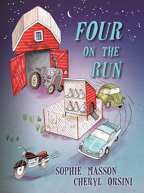 Four on the Run by Sophie Masson & Cheryl Orsini
