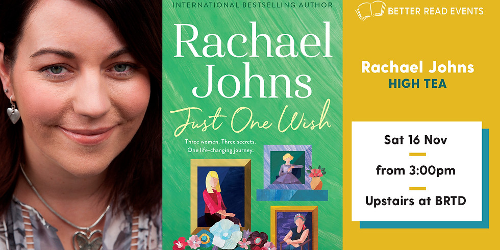 Rachael Johns High Tea