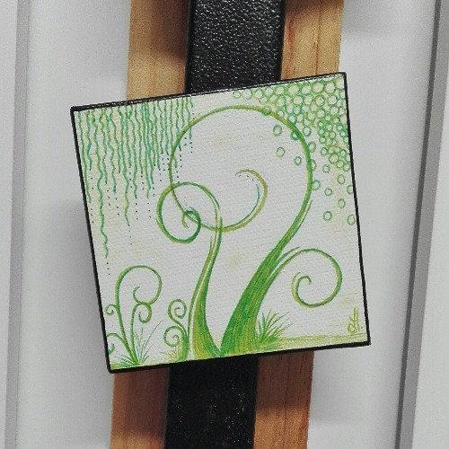 Magnet arbre vert