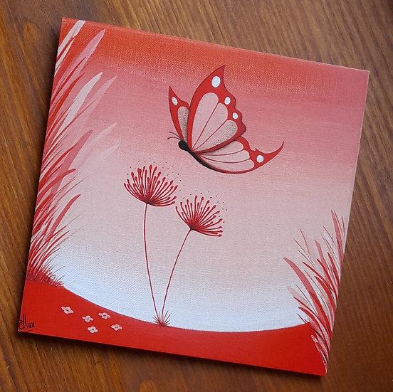 Carte Postale - Fleur du soir
