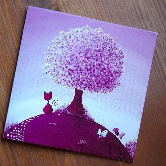 Carte Postale - La vie en rose