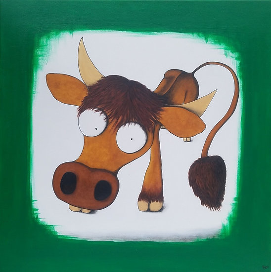 Vache - 60x60 cm