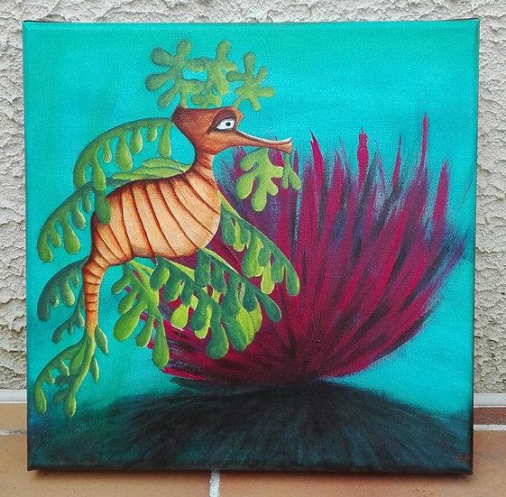 Hippo Plantu - 30x30 cm