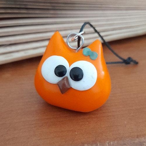 Grigri chouette orange