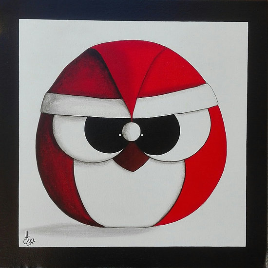 Chou-Noël - 30x30 cm