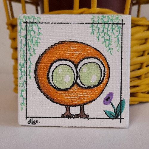 Magnet Tibili orange