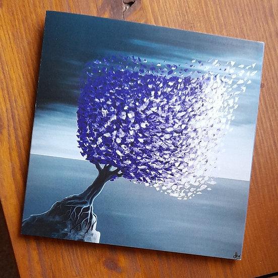 Carte Postale - L'arbre à papillons