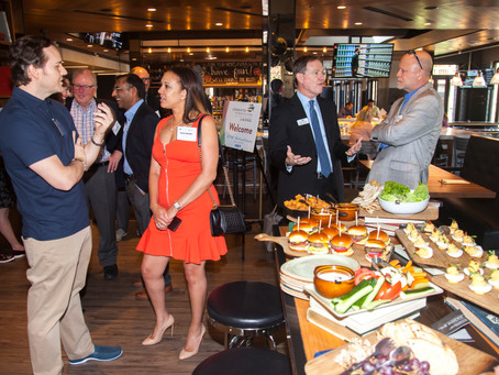 TSG TEAMS UP WITH SFMG WEALTH ADVISORS TO SPONSOR CFT FOR BUSINESS CEO HAPPY HOUR