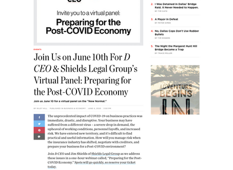 Join us June 10th for our Virtual Panel with DCEO