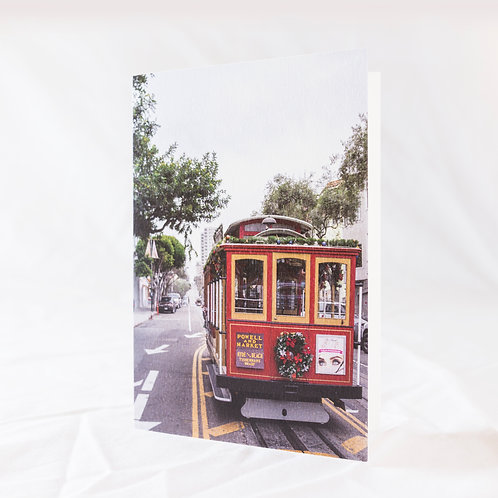 Christmas in San Francisco Greeting Card