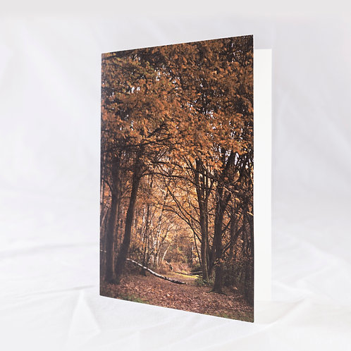 The Fallen Bough Greeting Card