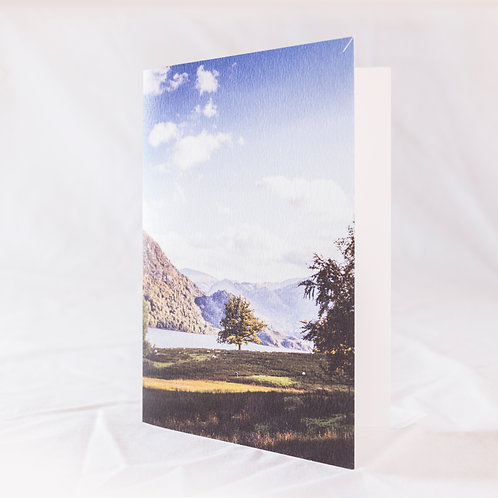 On the Edge of Ullswater Greeting Card
