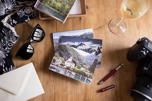 Swiss + Bavarian Alps Greeting Card Gift Box