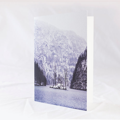 Winter in Königssee Greeting Card