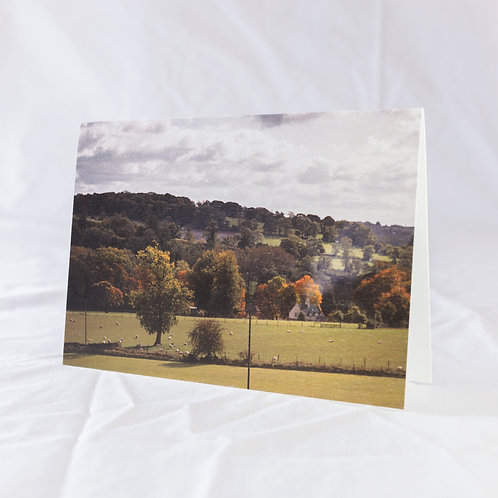 Autumn in Lower Swell Greeting Card