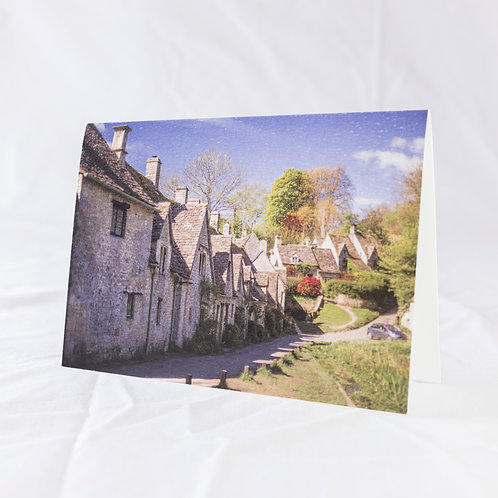 Arlington Row Greeting Card