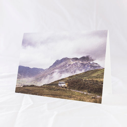 Ascent from Langdale Valley Greeting Card
