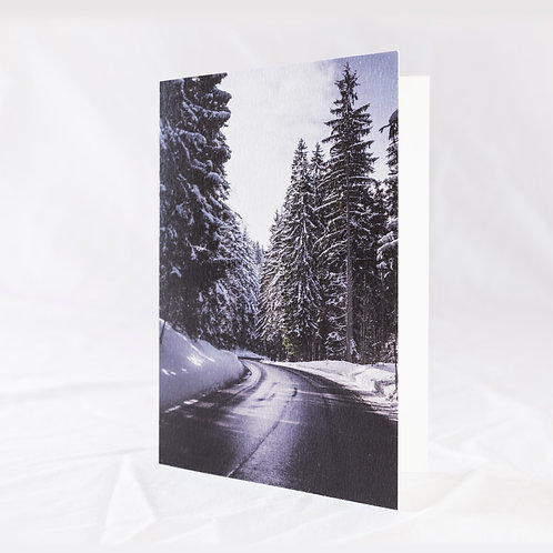Mountain Pass Greeting Card