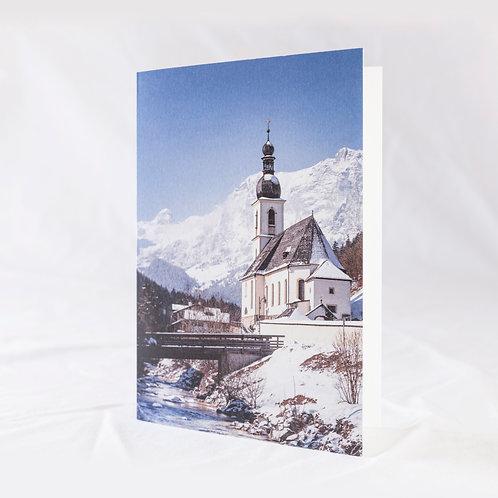The Church of St. Sebastian Greeting Card