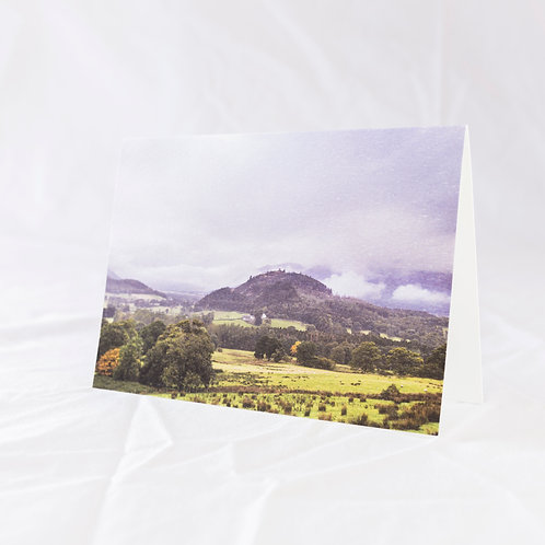 Blue Summer in Newlands Valley Greeting Card